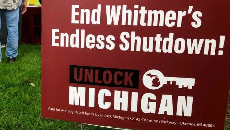 Michigan Attorney General Dana Nessel is launching a criminal investigation into Unlock Michigan -- the committee collecting signatures to repeal an emergency powers law Gov. Gretchen Whitmer is using to address the coronavirus pandemic -- Nessel said Monday.