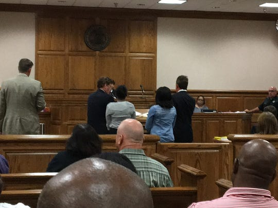 Jordan Bailey and Markarious Searcy, both 18, appeared in Madison County Circuit Court Tuesday before Judge Roy Morgan.