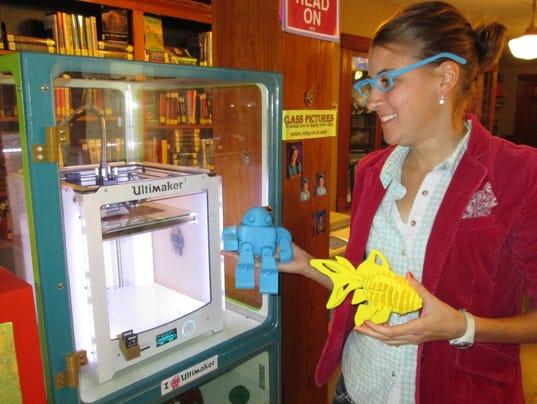 AAP AS_AW CTYSD Brandon Lib 3D printer - PIC