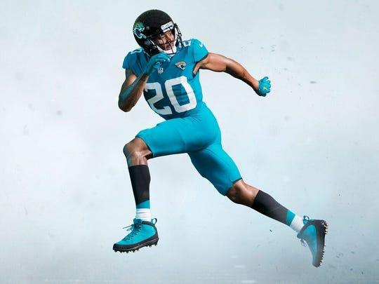 cccf2dab6 Jacksonville Jaguars  new uniforms ditch two-tone helmet