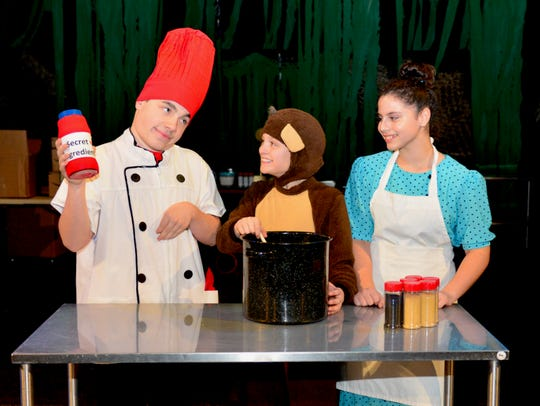 Chef Pisghetti (Ben Austin, Curious George (Dawson