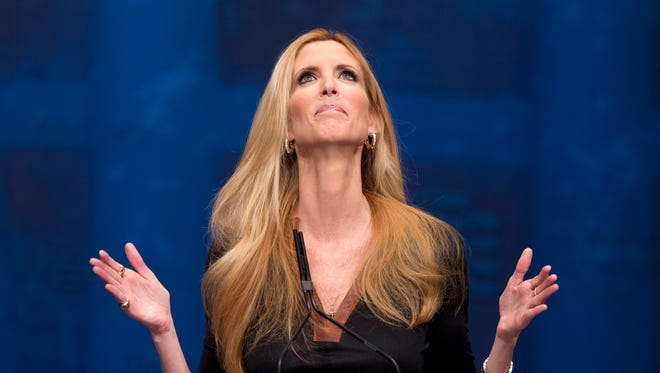 Conservative pundit Ann Coulter launched into a Twitter tirade against Delta Air Lines after a seating snafu over the weekend.