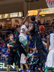 Although he's only 6-2, FGCU's Brandon Goodwin is fearless