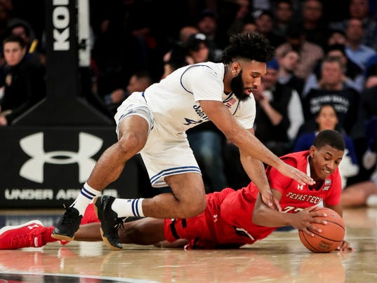 NCAA Basketball: Under Armour Reunion Seton Hall vs Texas Tech