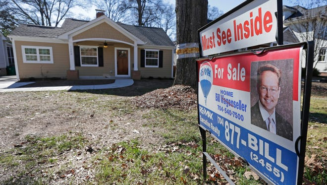 A home for sale in Charlotte, N.C.