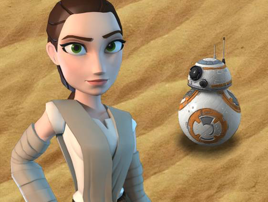 Rey, the new movie's heroine played by Daisy Ridley,