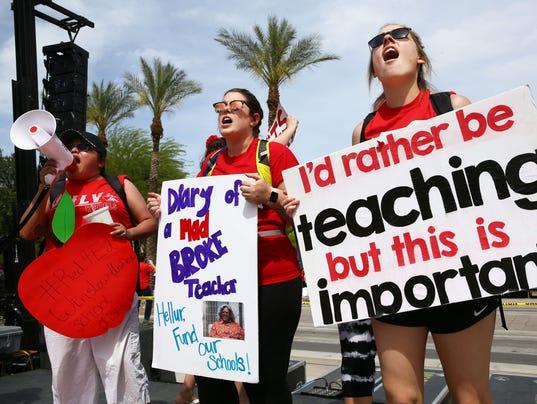 Day 3 Arizona Teacher Walkout