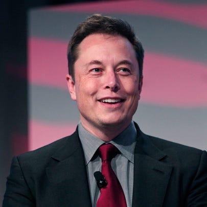 Elon Musk, co-founder and CEO of Tesla Motors, speaks