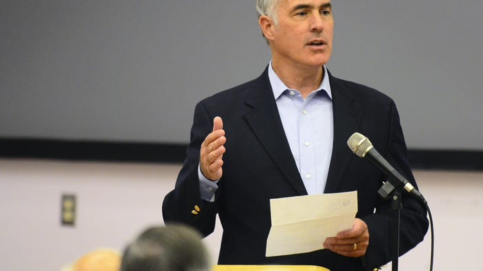 U.S. Sen. Bob Casey tests positive for COVID-19 antibodies, plans to donate plasma