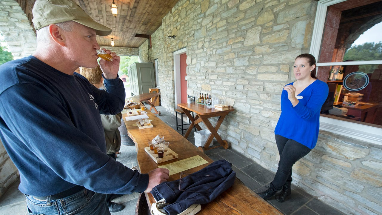 Watch: Beer and wine mix at Nissley Vineyards