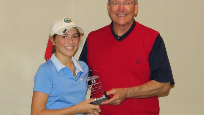 Asheville School freshman Rachel Kuehn won the 39th annual Phil Wallace Holiday Classic Junior Golf Championship held Monday in Shelby.