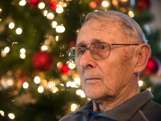 Bruce Gearheart, Vietnam Veteran, at his home in Prattville, Ala., on Tuesday, Dec. 29, 2015.