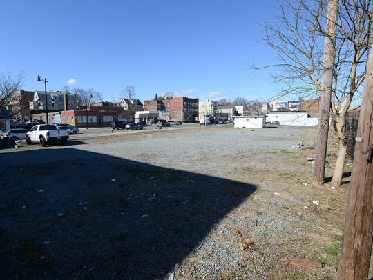 The former lot of the Pioneer Auto Group in Belleville,
