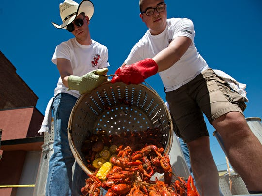 On Saturday, volunteers will be running 16 pots of crawfish cooking outside of Riverwalk Stadium during the 16th annual Autism Crawfish Boil drive-through event.