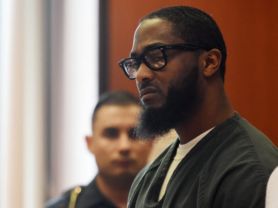 Basim Henry was sentenced to life in prison for the 2013 murder of Dustin Friedland at the Mall of Short Hills, plus ten years for possession of a weapon by a felon. Henry was sentenced by Judge Michael Ravin in Essex Superior Court on Monday, June 26, 2017.