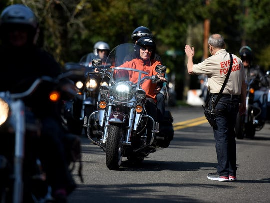 The 18th annual Andiamo charity motorcycle run was