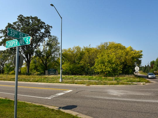 The intersection of Cooper Avenue and 33rd Street South shown in September 2017 in St. Cloud.