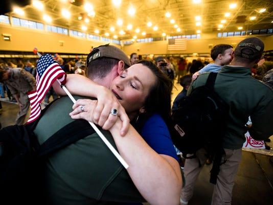 187th Air National Guard arrives home