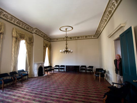 One of the rooms inside the Murphy House which houses