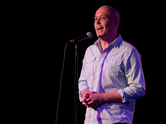 Seth Fox tells his tale during Arizona Storytellers: