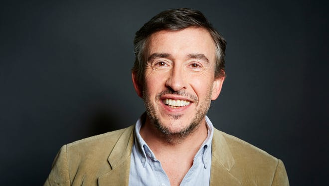 """English comedian, writer and actor Steve Coogan, from the upcoming film """"Alan Partridge,"""" poses in New York on April 2, 2014."""