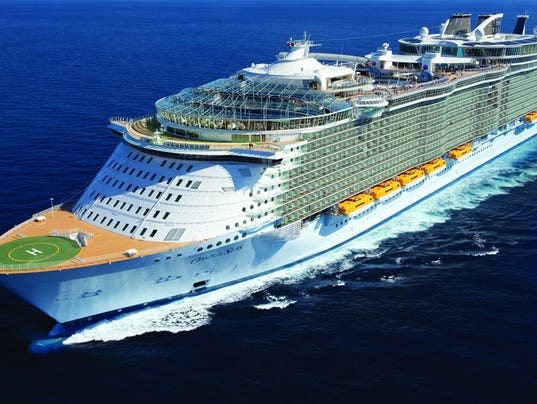 One Of Largest Cruise Ships Makes Port Canaveral Home - Cruise ship ports east coast