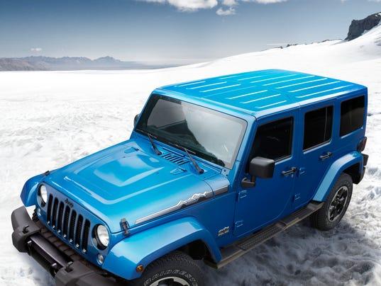 Jeep Wrangler Polar 2014
