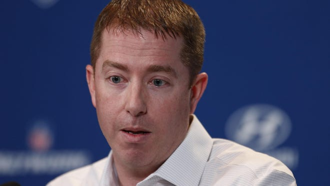"""Asked at the NFL combine about his plans for free agency, new Lions GM Bob Quinn said: """"I really want to build the depth of this team."""""""