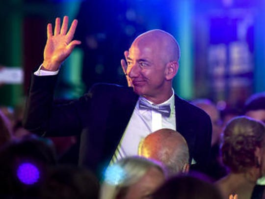The world's richest bald man - well, the world's richest person - is Jeff Bezos, founder of Amazon and Blue Origin.