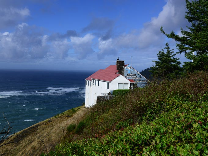 The Lookout Observatory and Gift Shop at Cape Foulweather