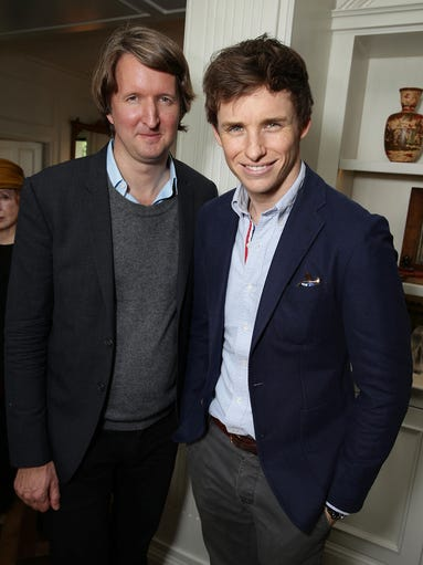 Director Tom Hooper and Eddie Redmayne kick back at