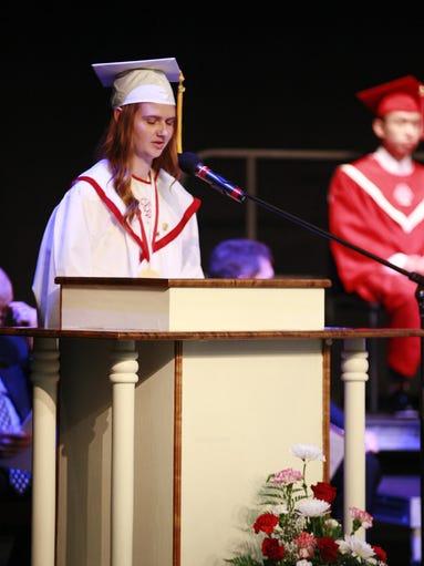 "salutatory address13 ""preparing students to be successful adults change of address 13 valedictorian & salutatorian."
