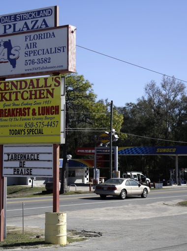 Pam Buchanan tells us her restaurant, Kendall's Kitchen, is the best one on Highway 20. One of her regulars interjects to point out that it is the only restaurant on Highway 20.