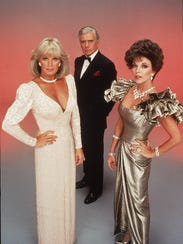 Linda Evans, John Forsythe and Joan Collins starred
