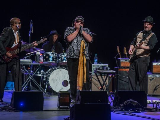 Montgomery blues rock band King Bee open for Delbert McClinton on Saturday, May 12, 2018, at the Montgomery Performing Arts Centre.
