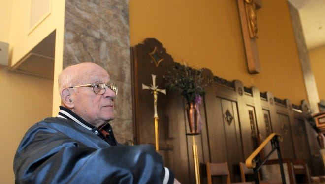 Councilman Joseph Testa, who died Monday, had also served as a trustee at St. Michael's Church in Palisades Park.