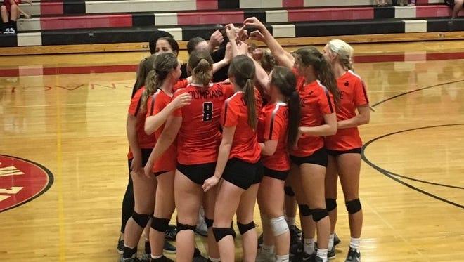 Sprague volleyball beats South Salem.