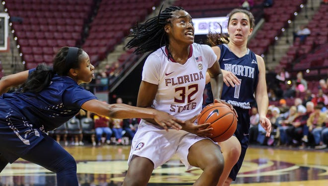 Redshirt senior guard Imani Wright (32) and the FSU women's basketball team has been scoring at an electrifying rate thus far this season.