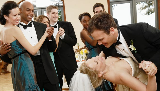 Couples spend an average of $29,858 on their wedding, according to The Knot 2013 Real Weddings Study.