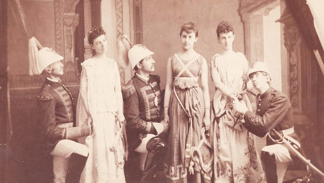 A recently rediscovered Victorian-era photograph shows six Portsmouth youths appearing onstage, possibly at The Music Hall. Local history detectives joined forces to unearth the who, what, when, why, and where of this rare Portsmouth image.