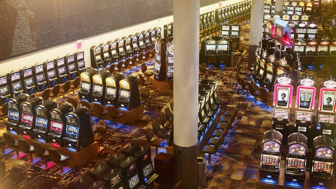 Ten slot machines currently on the floor of Empire City Casino are boasting six-figure jackpots.