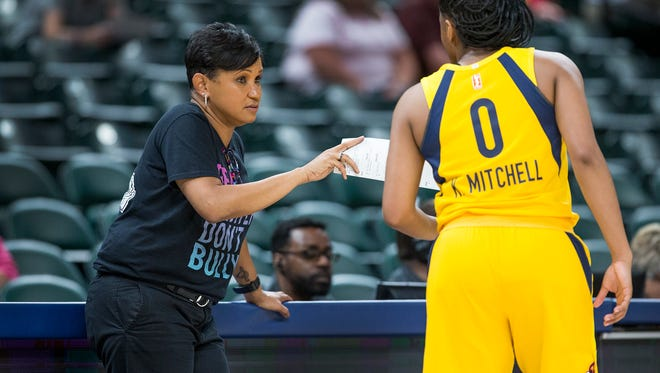 FILE – Pokey Chatman and the Fever are still looking for their first win of the 2018 season.