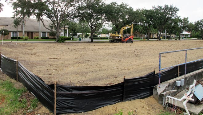 The longtime car wash at Jaeger and Pine Ridge roads recently was demolished to make way for a new Luv-A-Wash in North Naples.