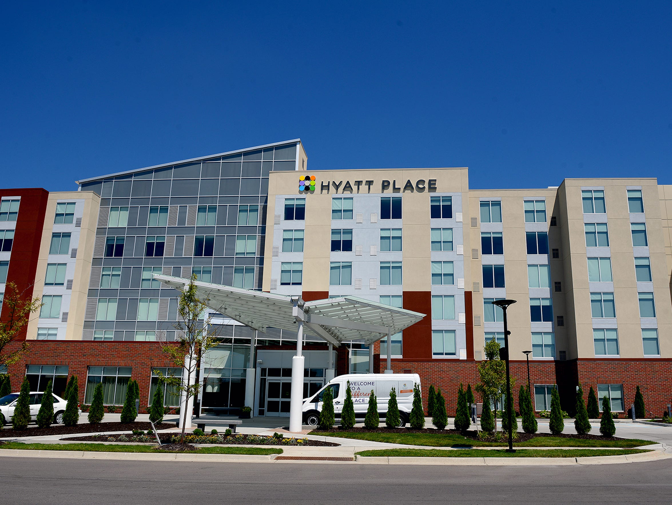 The 128-room Hyatt Place hotel opened in May 2015 at