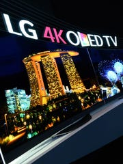 LG TVs at IFA in Berlin included a curved 4K OLED TV, a bendable 4K OLED, and an 8K TV.
