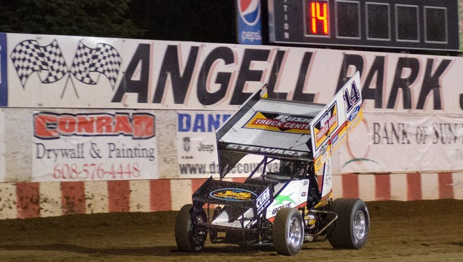 Tony Stewart raced last year at Angell Park Speedway in Sun Prairie last season and will bring his All Star Circuit of Champions series and a MAVTV crew along in 2018.