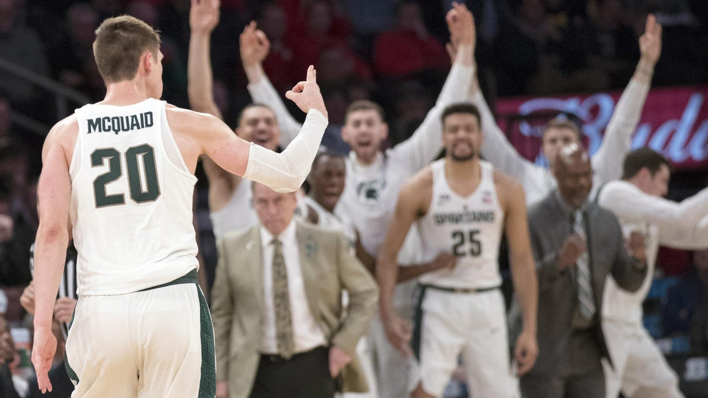 Surefire McQuaid buries critical 3 to aid MSU cause