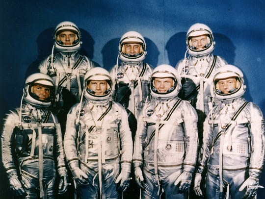 Te Project Mercury Astronauts selection was announced
