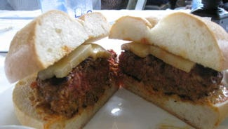 This Chorizo Burger won Toby Tobiason of Yonkers at $10,000 grill in a Firefighter Cook-Off in 2008.
