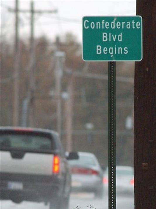 Confederate Boulevard Arkansas